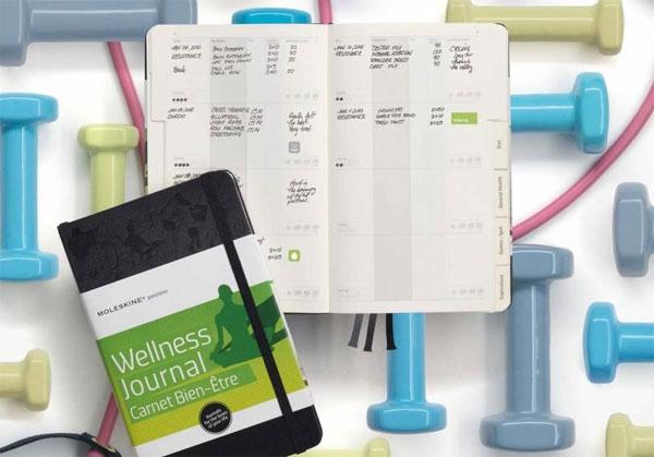 записная книжка Moleskine Passion «Wellness»
