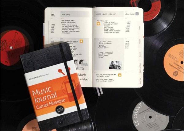 записная книжка Moleskine Passion «Music»