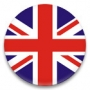 Значок 38 мм - Флаг Великобритании