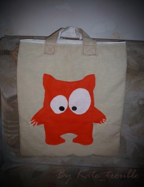 летняя сумка ручной работы