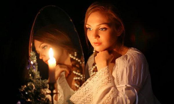 Гадание с зеркалом