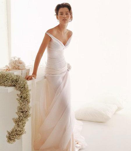 непышные свадебные платья