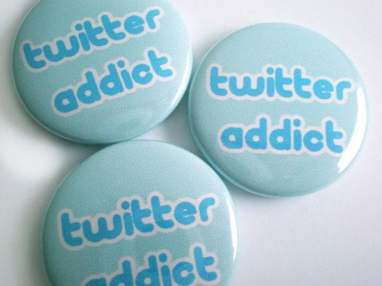зависимость от Твиттера/Twitter