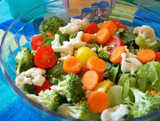 диетические салаты