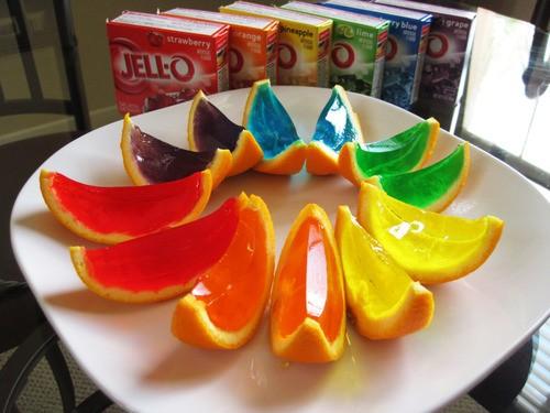 разноцветный апельсин, летний деликатес
