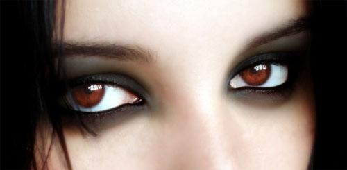 дымчатый макияж глаз smoky eyes