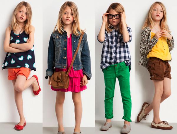 Модно одеть девочку