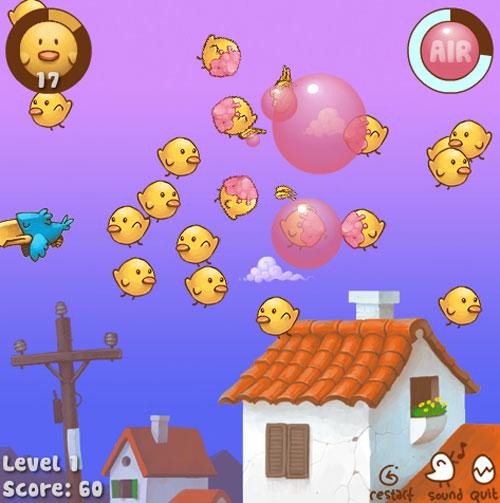 флеш-игра Chickaboom