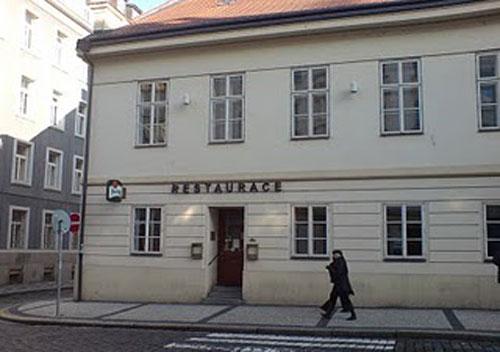 ресторан Bredovský dvůr в Праге