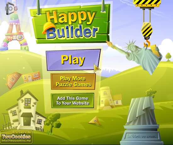 флеш игра Happy Builder