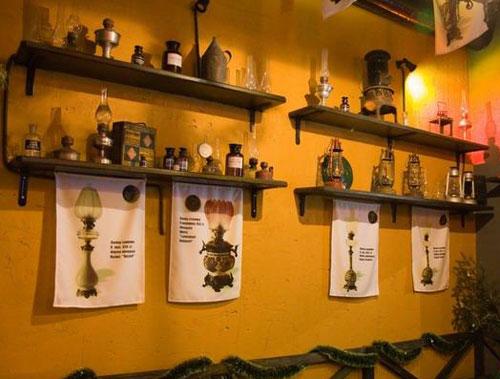 Ресторан-музей Гасова Лямпа во Львове