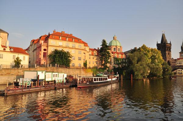 Прага река Влтава