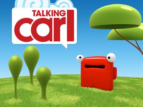 приложение Talking Carl для iPad