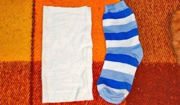 Сделать снеговика из ткани своими руками