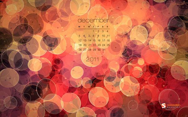 зимние обои декабрь 2011