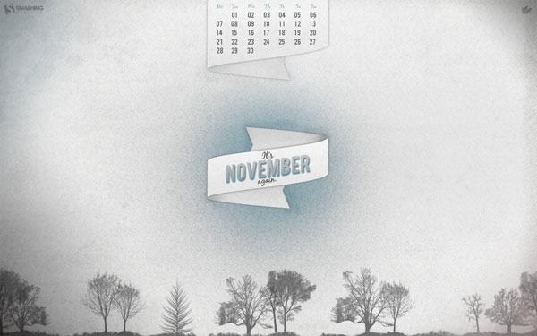 новые обои ноябрь 2011