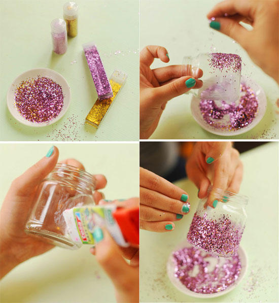 Как можно украсить банку стеклянную своими руками