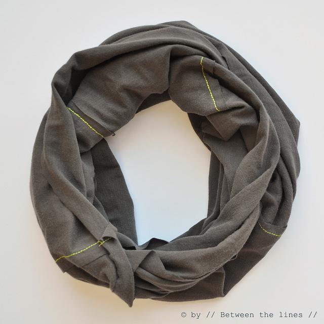 круглый шарф своими руками