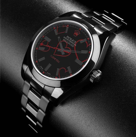 Часы Rolex Milgauss I Love You