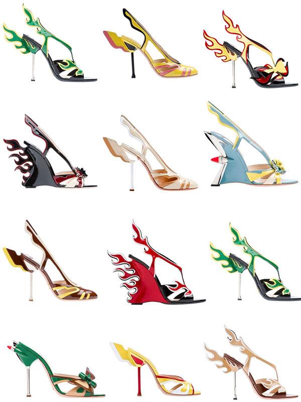 коллекция обуви Prada Cadillac