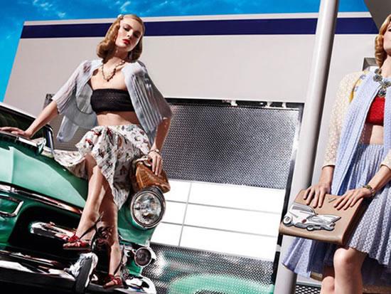 весенняя коллекция Prada Cadillac Prada