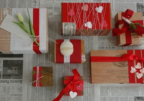 красивый подарок на День Валентина