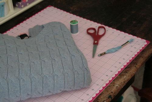 сумка из свитера своими руками