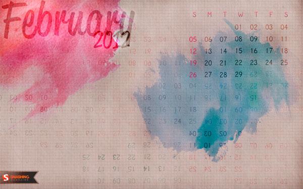 стильные обои февраль 2012