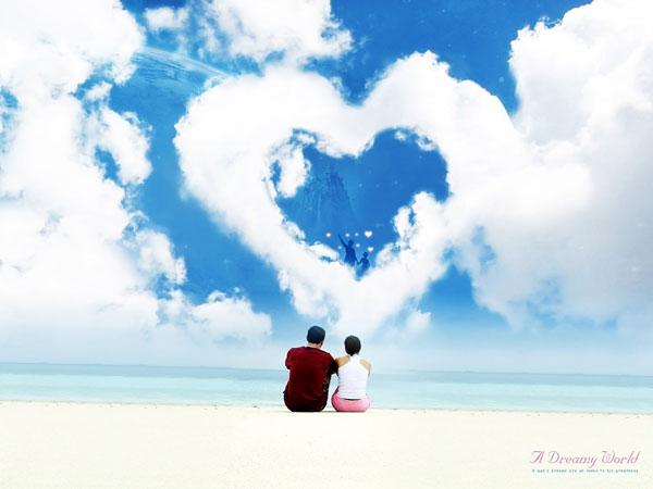 красивые обои про любовь