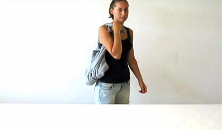 сумка для ноутбука из толстовки