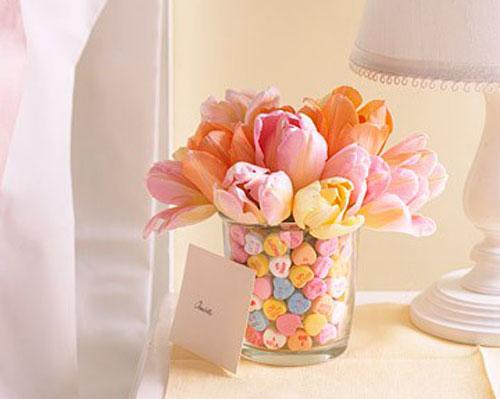 весенний декор цветы