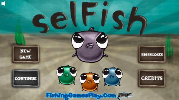онлайн flash игра Selfish