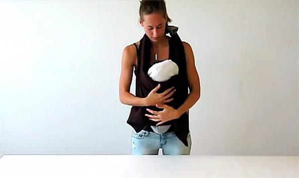 детская переноска своими руками