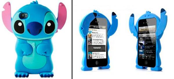 Чехол Disney 3d Stitch для iPhone 4/4S