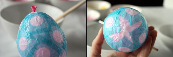 пасхальные яйца папье-маше
