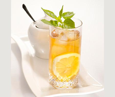 рецепт холодного зеленого чая