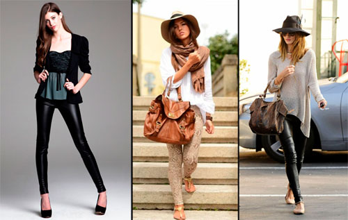 модные леггинсы 2012