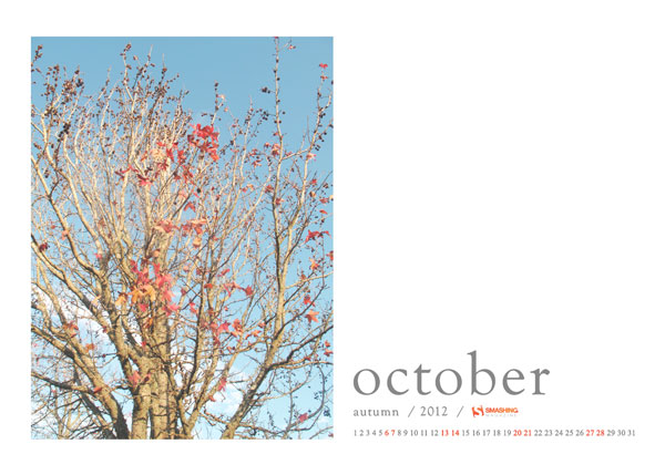 красивые обои октябрь 2012