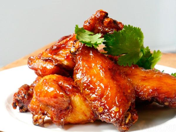 курица по-японски в соевом соусе
