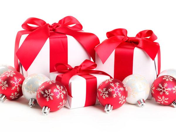 декор новогодних подарков