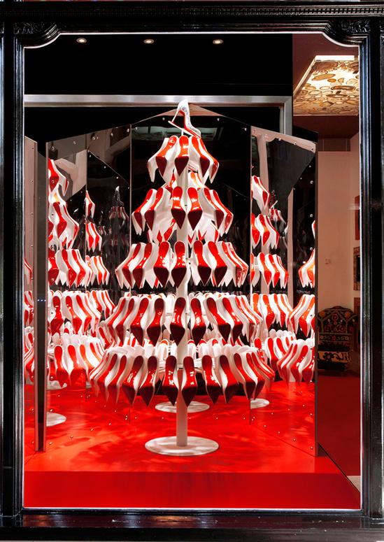 новогодняя елка Christian Louboutin