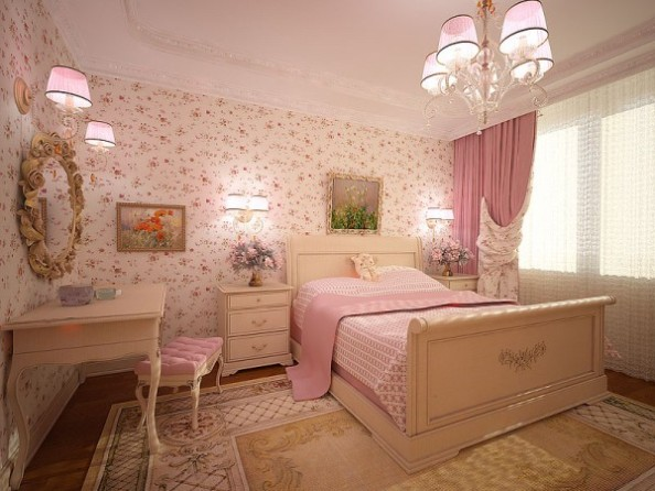 Красивый дизайн спальни