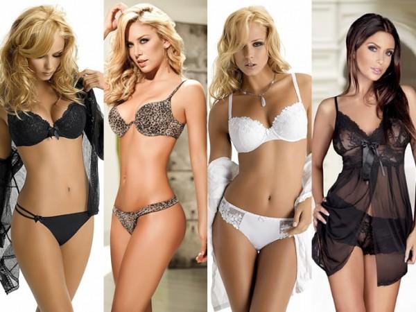 Женское модное нижнее белье 2013