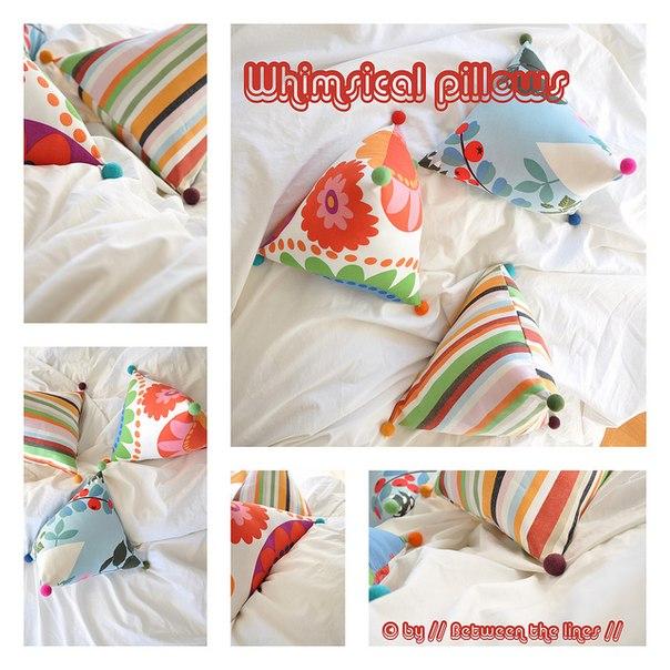 интерьерные подушки своими руками