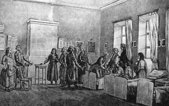 история возникновения больниц