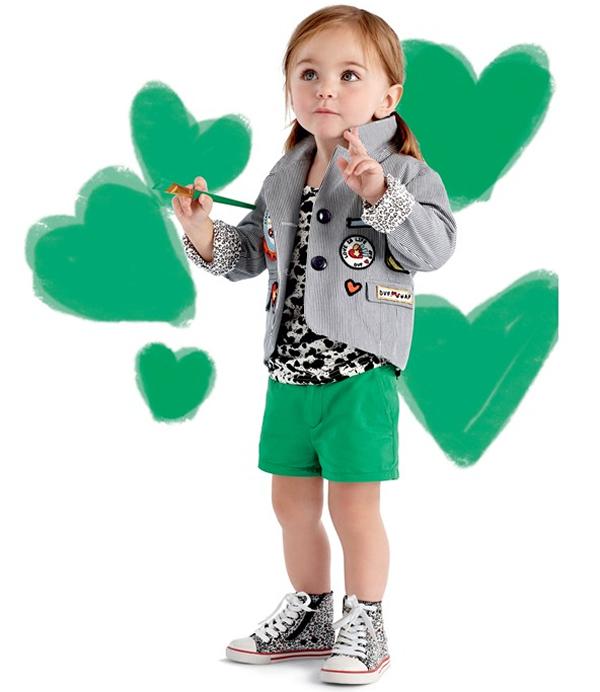 коллекция детской одежды DVF для Gap