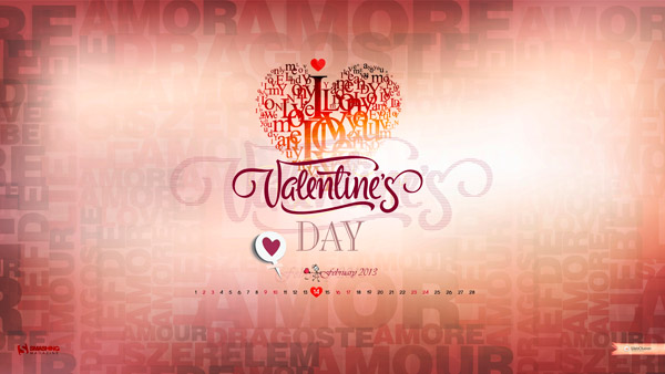 обои День Влюбленных