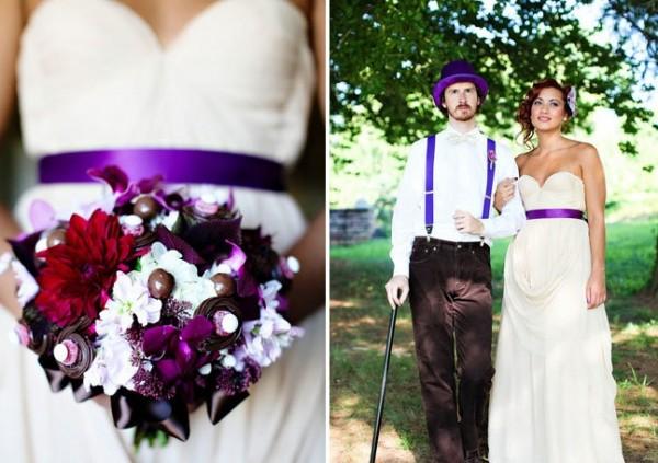 Свадьба в стиле фильма «Чарли и шоколадная фабрика»