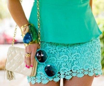 Бирюзовый цвет - модный тренд сезона