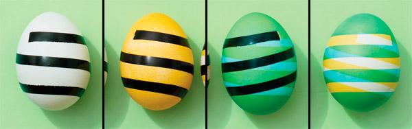 декорирование яиц на Пасху